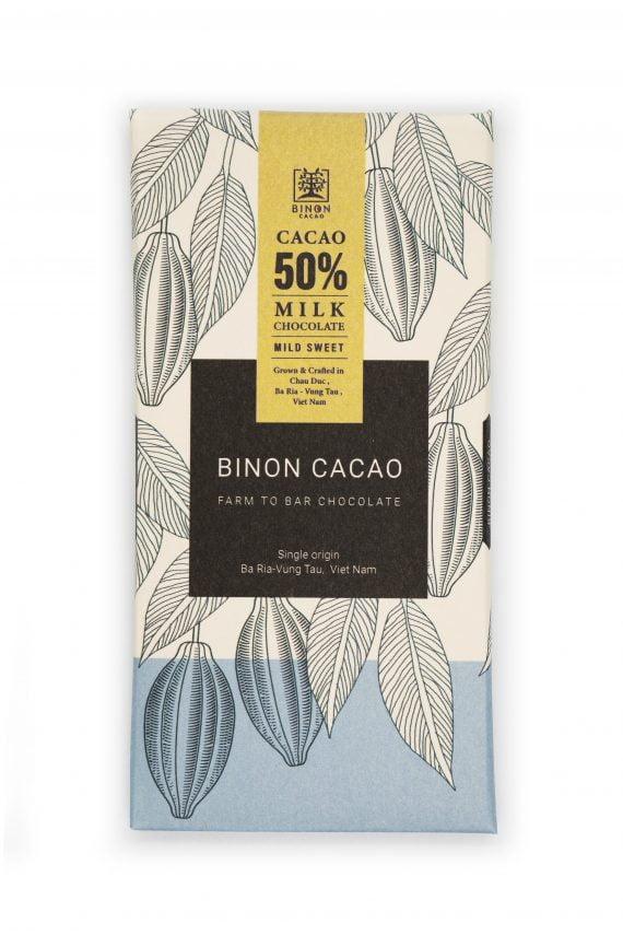 Farm To Bar Chocolate Sữa 50%
