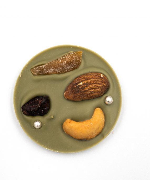 La Terre Ferme Chocolate Trà Xanh Trái Cây Và Hạt