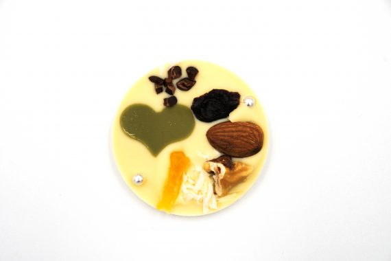 La Terre Ferme Chocolate Tropical Fruits, Nuts, White